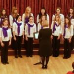 Canterbury Girls'choir  dirigé par Kerry Boyle