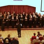 Les femmes de Josquin Des Prés  et  Canterbury Ladies Choir  dirigés par Xavier Fournier