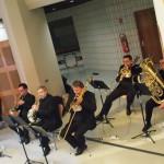 le sextuor de cuivres dans Pierre de Soleil